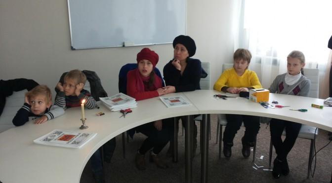 Занятие детской воскресной школы 19.10.2014